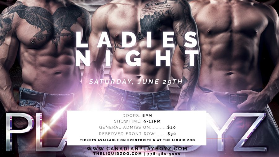 Ladies Night Liquid Zoo June 29th 2019